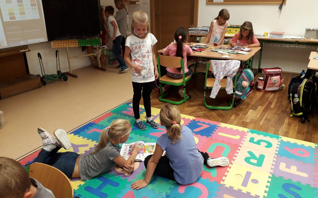 I. třída zdraví předškoláky